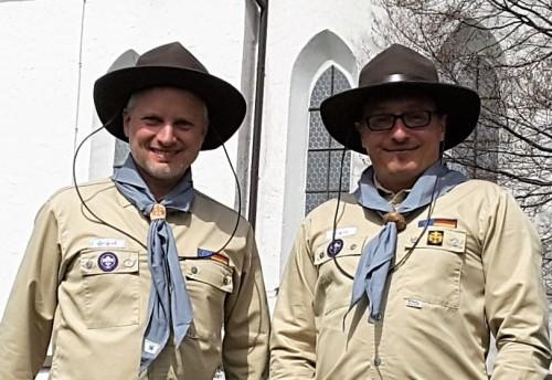 Tonio Grawe und Felix Finsterwalder